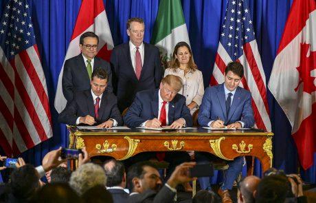 Trump signe un nouveau deal avec le Canada et le Mexique