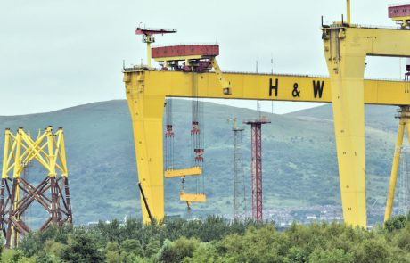 Harland and Wolff sauvé de la faillite