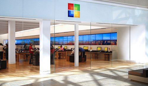Microsoft ferme ses magasins