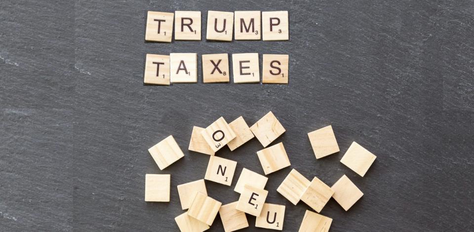 Les États-Unis imposent des taxes douanières punitives sur 7,5 milliards de dollars de produits européens