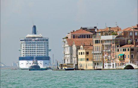 Vers la fin des paquebots à Venise