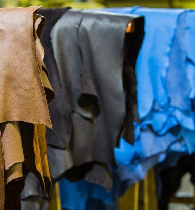 Effondrement du marché du cuir